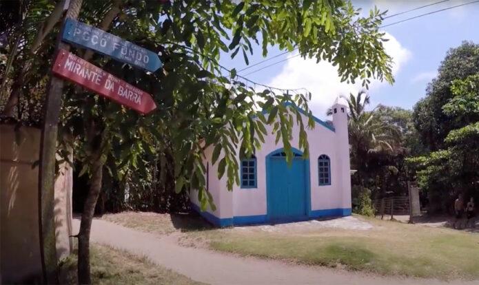 Igreja de Santa Verônica - Praia do Bonete - Ilhabela