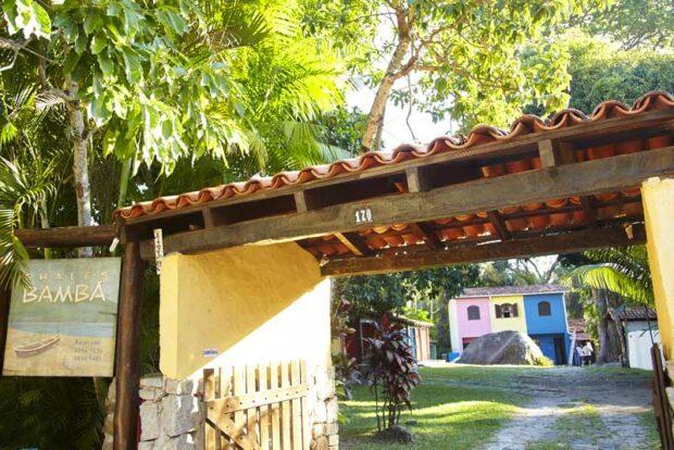 Chalés Bambá - Praia do Portinho - Ilhabela