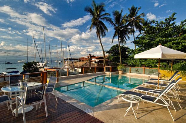 Hotel Fita Azul - Piscina - Ilhabela