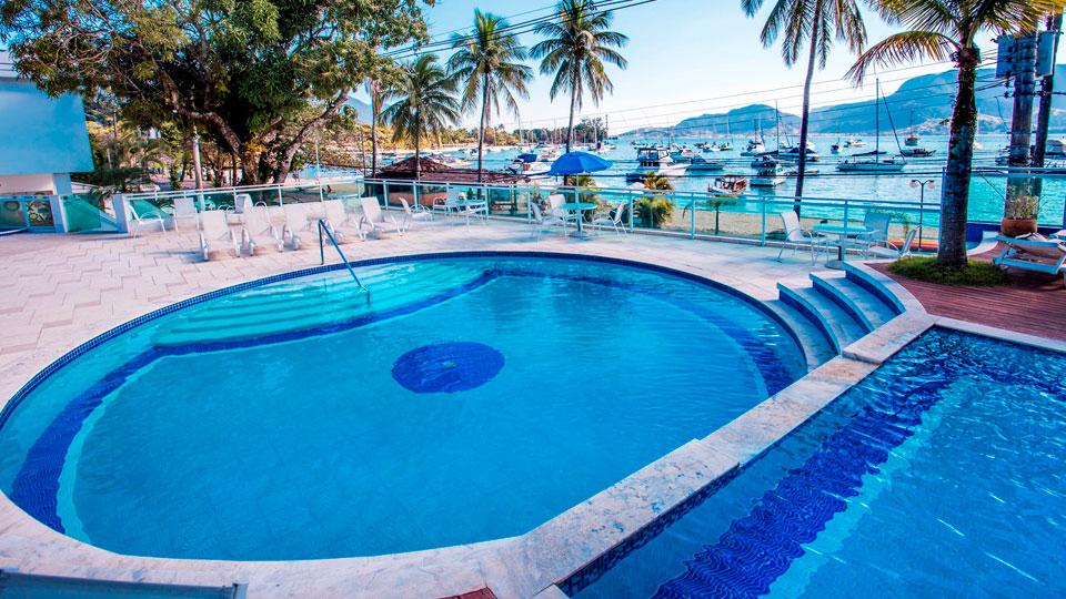 Hotel Ilhabela - Frente ao mar perto da Vila, centro histórico