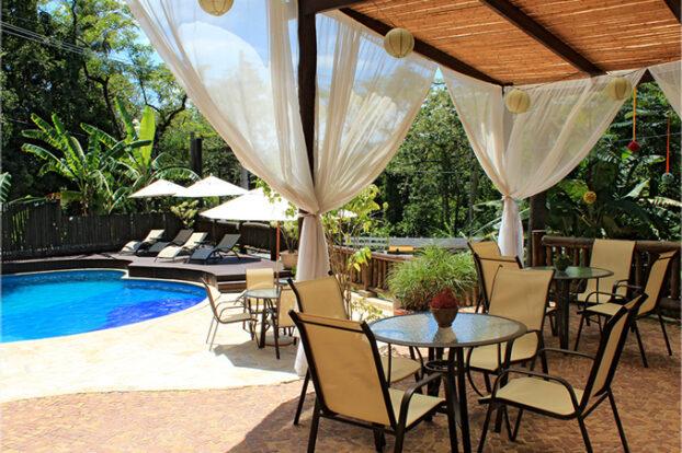 Pousada Villaggio Assis - Área de lazer - Portal Ilhabela.com.br