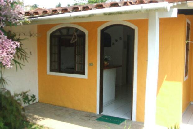 Raiar do Baepi Chalés - Entrada - Portal Ilhabela.com.br