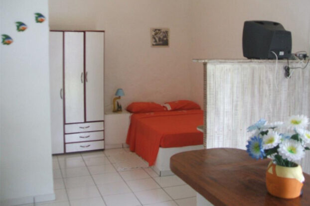 Raiar do Baepi Chalés - Quarto - Portal Ilhabela.com.br