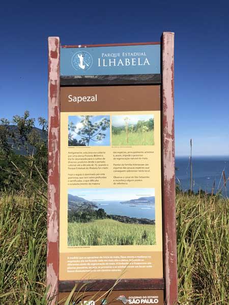 Sapezal - Trilha do Baepi - Ilhabela - Por Elas Mundo Afora