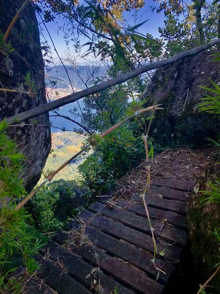 Ponte Trilha do Baepi - Ilhabela - Por Elas Mundo Afora