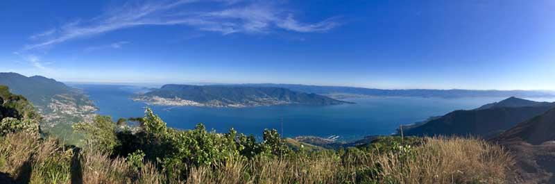 Vista do topo do Pico do Baepi - Ilhabela - Por Elas Mundo Afora