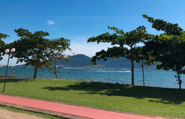 Ciclovia orla Ilhabela - Praia do Engenho D'Água