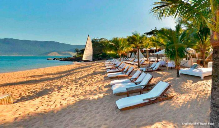 Ilhabela - Praia do Curral - DPNY Beach Hotel