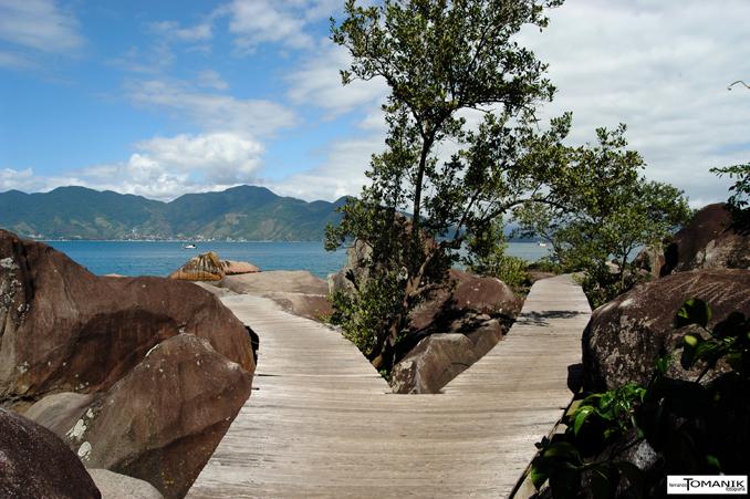 Trilha para a Pedra do Sino - Praia de Garapocaia - Ilhabela (Foto: Fernando Tomanik)