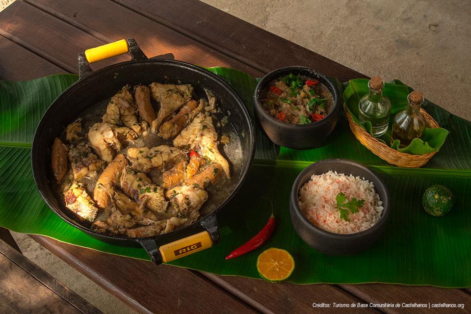 Peixe Azul Marinho - Gastronomia - Praia de Castelhanos - Ilhabela - Turismo de Base Comunitária Castelhanos