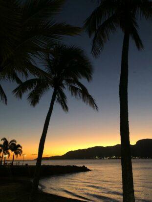 Pôr do Sol em Ilhabela - Praia do Perequê