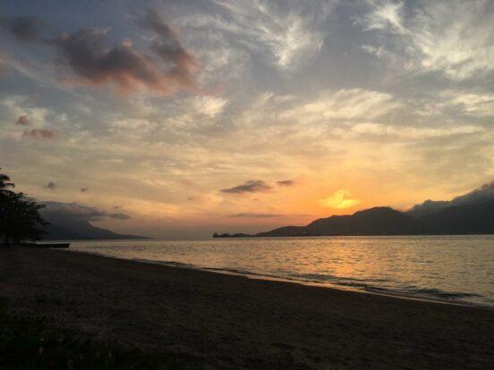 Pôr do Sol na Praia do Engenho D'Água Ilhabela