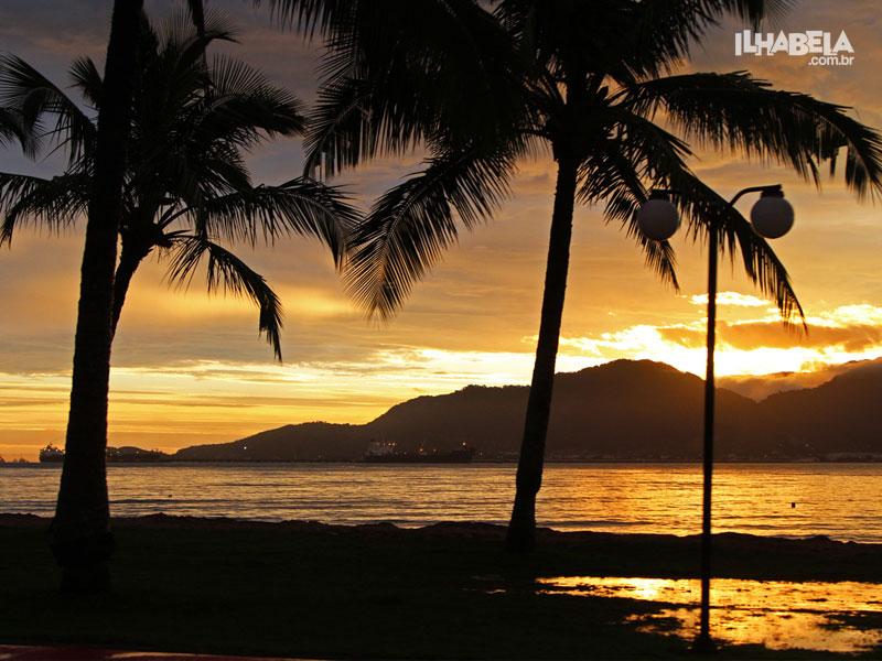 Pôr do Sol - Praia do Perequê - Ilhabela - Ilhabela.com.br