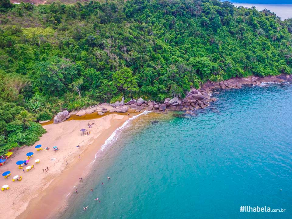 Praia de Jabaquara - Ilhabela