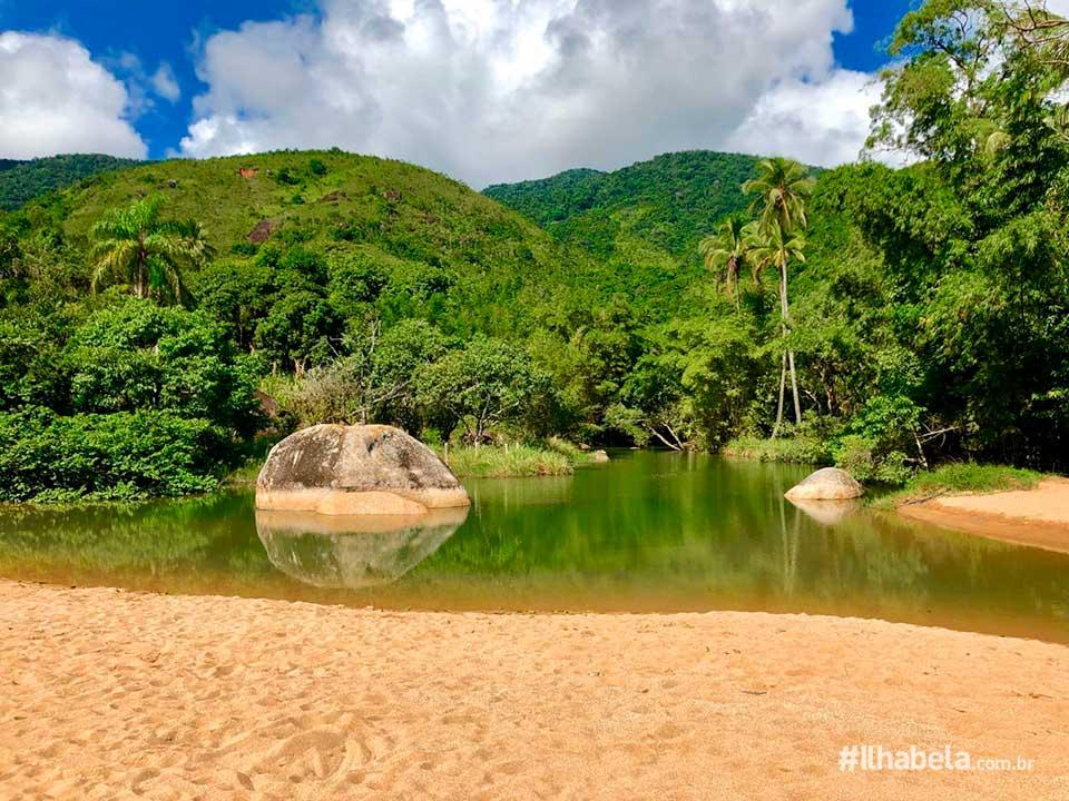 Praia do Jabaquara - Ilhabela
