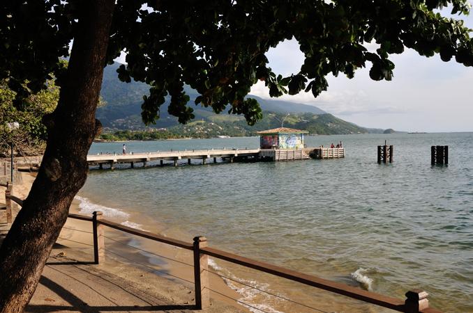 Pier da Praia do Perequê - Foto: Fernando Tomanik - Portal Ilhabela.com.br