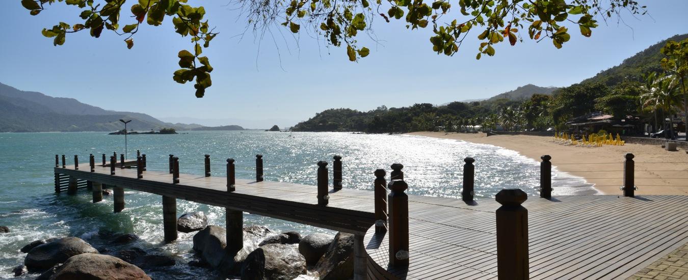 Píer da Praia Grande em Ilhabela (foto: Fernando Tomanik)