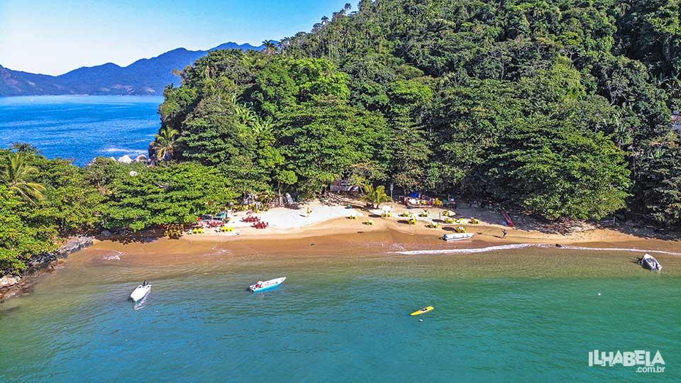 Praia do Saco do Eustáquio - Ilhabela - Ilhabela.com.br