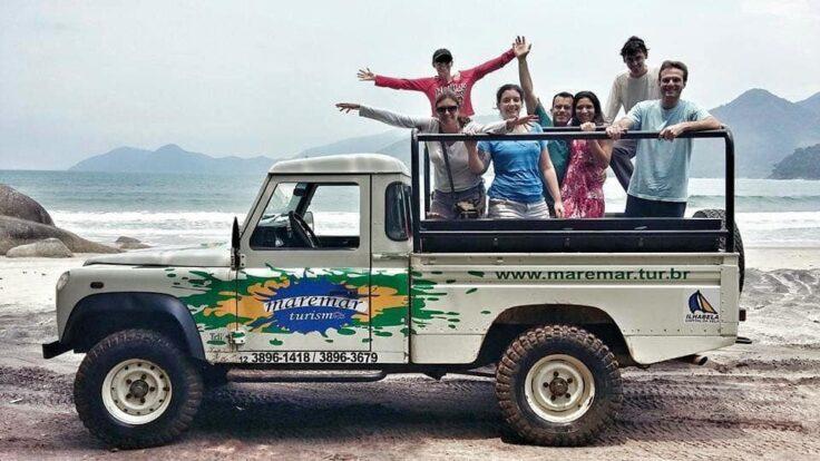 Passeio de Jipe em Ilhabela - Maremar Turismo