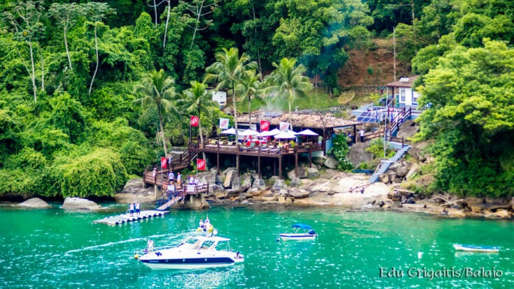 Saco do Sombrio - Yacht Club de Ilhabela