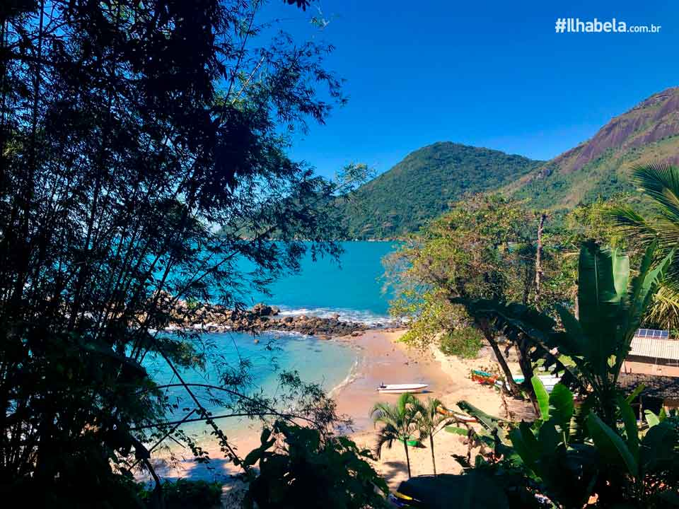 Trilha - Praia Mansa - Ilhabela - Ilhabela.com.br