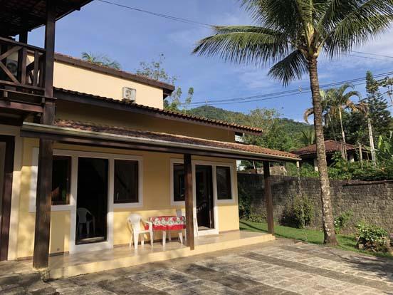 Ilhabela - Chalés Família Reis - na Cocaia, bairro central e tranquilo