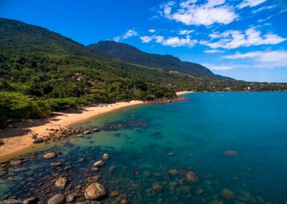 Praia do Julião - Pousada Villa da Prainha - Ilhabela