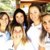Equipe feminina de vela enfrenta fortes ventos