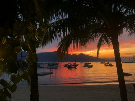 Ilhabela - Pôr do Sol - Praia de Santa Tereza