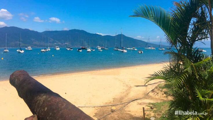 Praia do Saco da Capela - Ilhabela