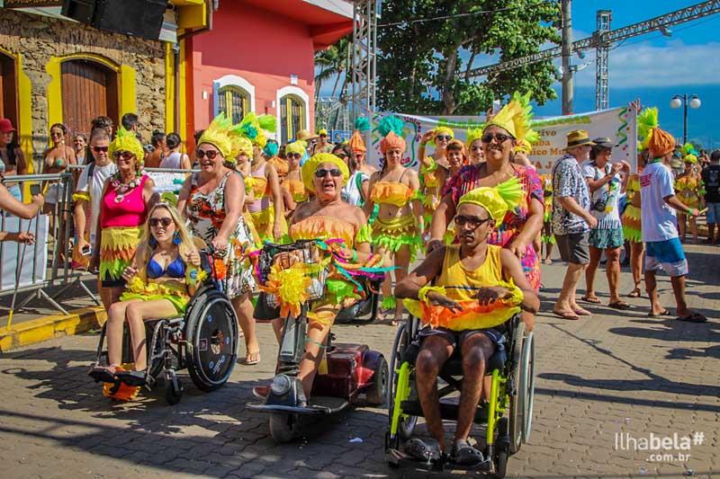 Banho da Doroteia - Carnaval em Ilhabela