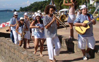 Banho da Doroteia no Carnaval de Ilhabela