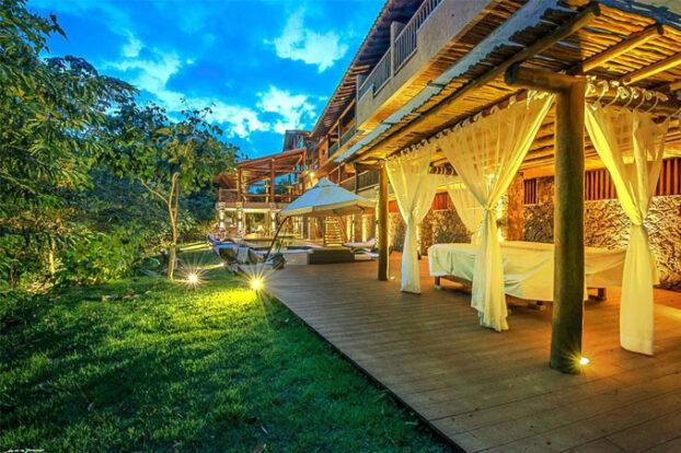 Hotel Boutique Kalango - Área de lazer - Portal Ilhabela.com.br