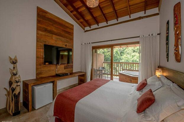 Hotel Boutique Kalango - Quarto - Portal Ilhabela.com.br