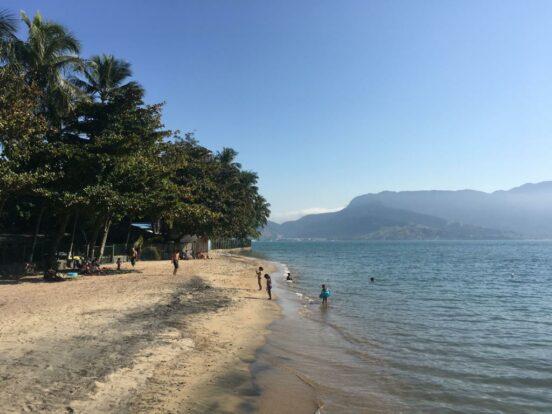 Praia do Pequeá em Ilhabela