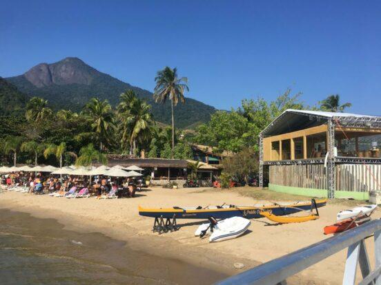 Escola de Vela Lars Grael - Praia do Pequeá em Ilhabela