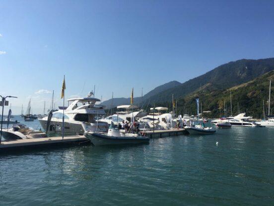 Ilhabela Boat Show - Escola de Vela Lars Grael - Praia do Pequeá em Ilhabela