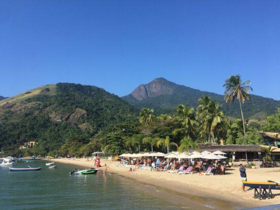 Quiosque - Praia do Pequeá em Ilhabela