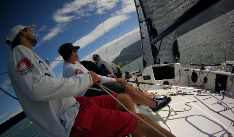Equipe Zeus - Ilhabela Sailing Week (foto: Cristina Morgato)