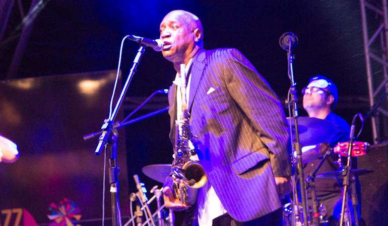Gary Brown no Ilhabela in Jazz (foto: Fábio Kafka)