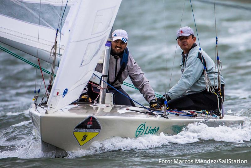 Lars e Samuel campeões na Star - Foto: Marcos Méndez/SailStation