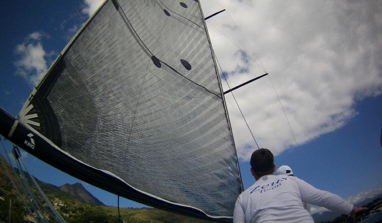 veleiro zeus ilhabela sailing week