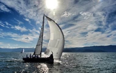 Bons ventos nas regatas rápidas