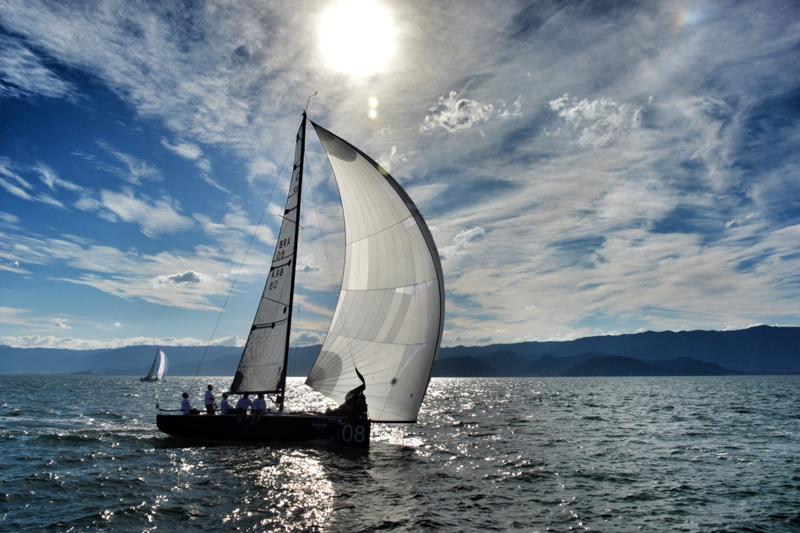 Veleiro Zeus na Ilhabela Sailing Week 2014