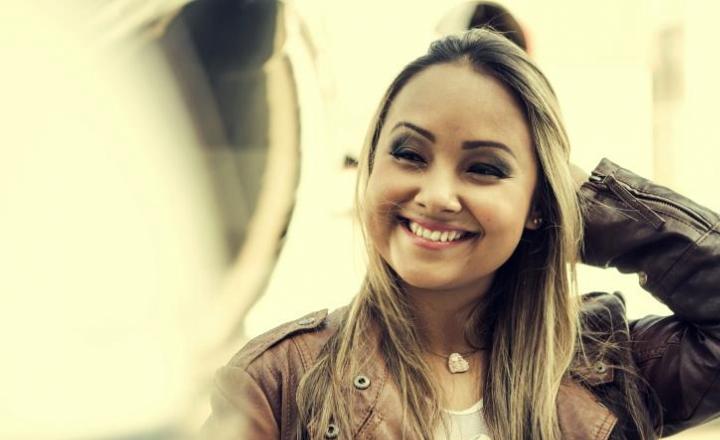 Bruna Karka faz show em Ilhabela