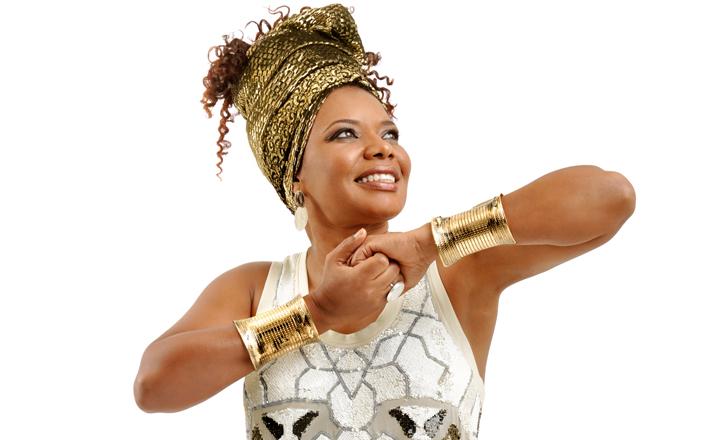 Margareth Menezes no Festival do Camarão de Ilhabela