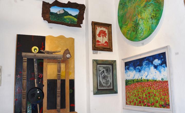 Salão de Artes Waldemar Belisário em Ilhabela