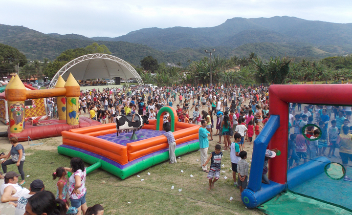 Festa da Criança em Ilhabela