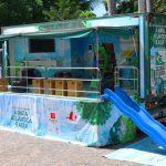 Caminhão SOS Mata Atlântica em Ilhabela