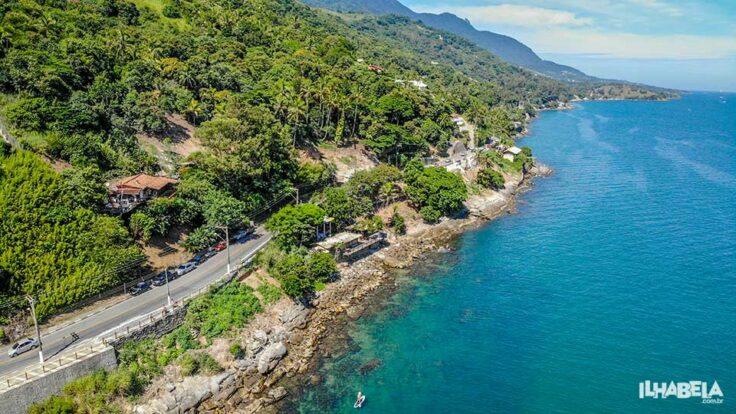 Costeira do sul de Ilhabela, entre Ilha das Cabras e Praia do Oscar